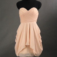 Cheap Chiffon Short Prom Dress 2013