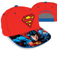 Superman Character Hall Of Heroes Adjustable Red Cap