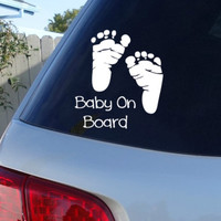Baby On Board Car Decal | Car Decals