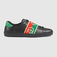GUCCI GG ACE Men's and Women's Sneakers Shoes
