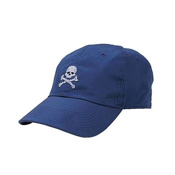 Jolly Roger Needlepoint Performance Hat by Smathers & Branson