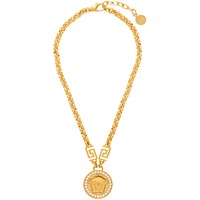 Versace Gold Icon Medusa Womens Necklace