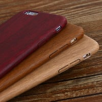 Vintage Wood Texture Pattern Leather Cases For Apple iPhone 7 6 6S Plus 5 5S SE Case Ultra Thin Soft Wooden Cover For iPhone 6 7