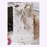 iPhone 4 Case, iPhone 4s Case, iPhone 5 Case, Cute iphone 4 case, Bling iphone 4 case, iphone 5 bling case, iphone 4 case bow, iphone5 case