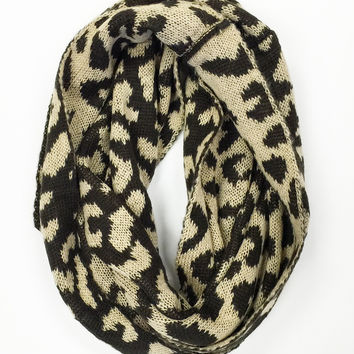 You've Been Spotted Infinity Scarf