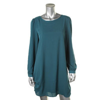 Cable & Gauge Womens Knit Bow Party Dress
