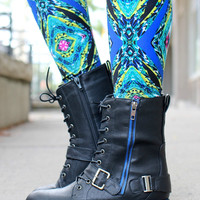 No Time To Talk Bootie - Black
