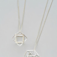Silver Geometric Perfection Necklace