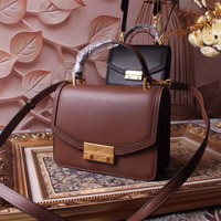 TB TORY BURCH WOMEN'S 2018 NEW STYLE LEATHER HANDBAG INCLINED SHOULDER BAG