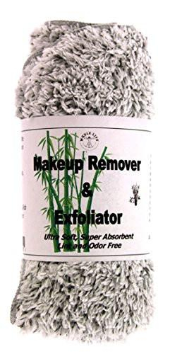 Image of Makeup Remover and Exfoliator Bamboo Charcoal Cloth (1) Large