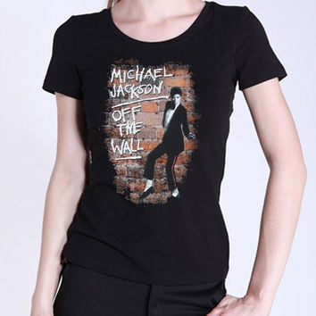 Womens Michael Jackson Cotton T-Shirt