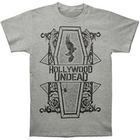 Hollywood Undead Men's  Coffin Tee T-shirt Grey