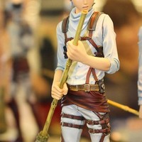 Cool Attack on Titan 17cm Japanese anime figure Eren Jaeger  action figure kids toys collectible model toys AT_90_11