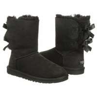 Women's UGG Bailey Bow Boot Black Shoes.com