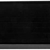 Darice black Velvet Ring Display Tray