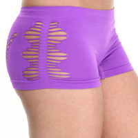 Sexy Cut-Out Seamless Short