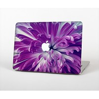 "The Vivid Purple Flower Skin Set for the Apple MacBook Pro 13"" with Retina Display"