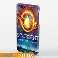 Divergent Cover Galaxy iPhone 4/4S, 5/5S, 5C Series Full Wrap Case