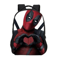 Deadpool Dead pool Taco VEEVANV Brand Designer Marvel 3D Printing  2 Backpack For Men Women Fashion Daily Laptop Backpacks Shoulder Travel Bag AT_70_6