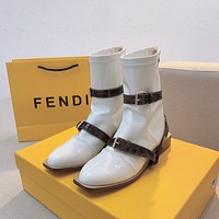 FENDI Glossy Ankle boots