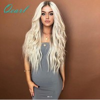 Qearl Hair 180% Density Full Lace Human Hair Wigs Ombre