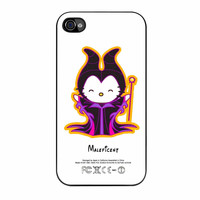 Hello Kitty Love Maleficent Disney iPhone 4 Case