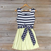 Smoke Blossom Dress in Lemon