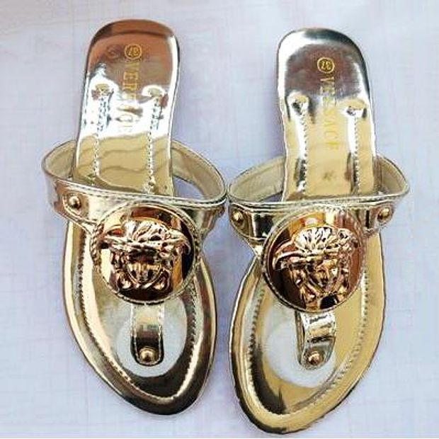 Image of Versace Summer Popular Women Casual Flat Sandal Slippers Shoes