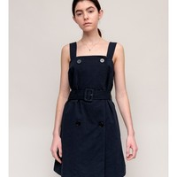 Greta Button Dress