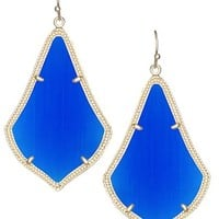 Alexandra Earrings in Cobalt - Kendra Scott Jewelry