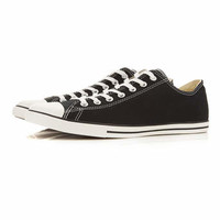 Converse Black All Star Lean Plimsolls - View All Shoes - Shoes and Accessories