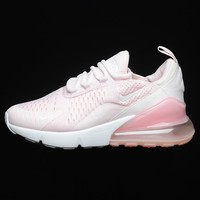NIKE AIR MAX 270 Rear air cushion sports shoes