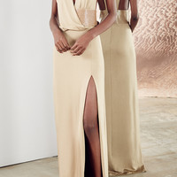 Gloss Jersey Catherine Dress | Moda Operandi