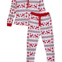 Family Christmas Pajamas Set- Mom ,Women Christmas Pajamas Women Clothes Sleepwear Nightwear Women's Clothing Set Pajama