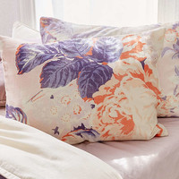 Cabbage Rose Sham Set   Urban Outfitters