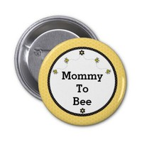 """""""Mommy To Bee"""" Cute Bumble Bees Honeycomb Pattern"""