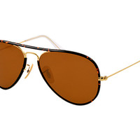 Look who's looking at this new Ray-Ban Aviator Full Color
