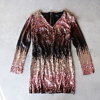 Final Sale - Minkpink - Moon Dust Sequin Dress