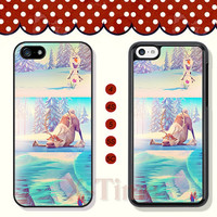 Disney Princess, Frozen, iPhone 5 case iPhone 5c case iPhone 5s case iPhone 4 case iPhone 4s case, Samsung Galaxy S3 \S4 Case --X51062