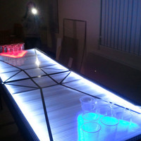 Custom LED Beer Pong Table by LEDBeerPongTables on Etsy