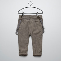 trousers with suspenders - Trousers - Baby boy (3-36 months) - Kids - ZARA United States
