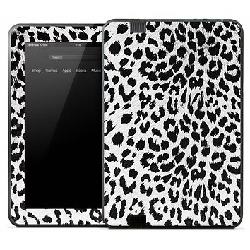 Real Snow Leopard Skin for the Amazon Kindle