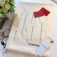 Valentino Women Fashion Wool Warm Scarf Scarves-1