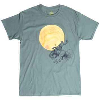 Altru Apparel Wild West Bronco Busting Sun tee