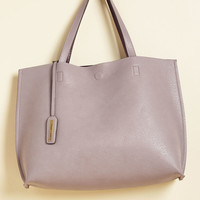 Know a Thing or Two-Tone Bag in Lilac