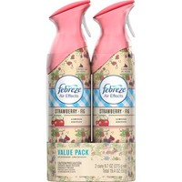 Febreze Air Effects Strawberry Fig Air Freshener Value Pack, 9.7 oz, (Pack of 2) - Walmart.com