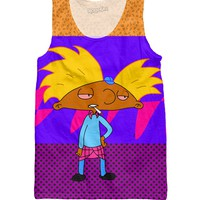 Smokin Hey Arnold Tank Top