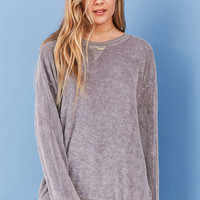 Project Social T Terry Pullover Top - Urban Outfitters