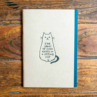 Owl Products Notebook Cat