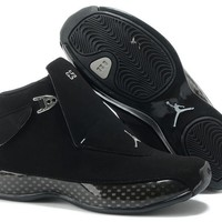 Air Jordan 18 (xviii) All Black Online Jordan 18 All Black - Beauty Ticks